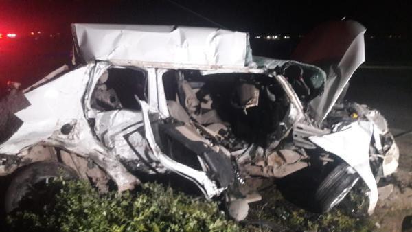 Şanlıurfa'da katliam gibi kaza; 5 kişi hayatını kaybetti - Sayfa 1