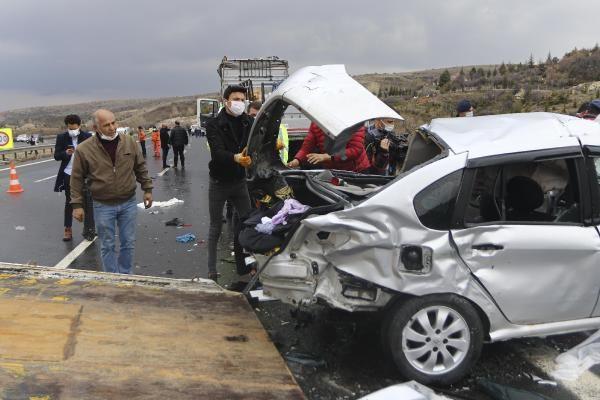 Ankara TEM yolunda katliam gibi kaza; 4 ölü - Sayfa 1