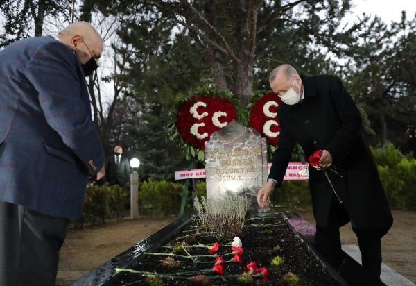Cumhurbaşkanı Erdoğan, Türkeş'in mezarını ziyaret etti - Sayfa 1