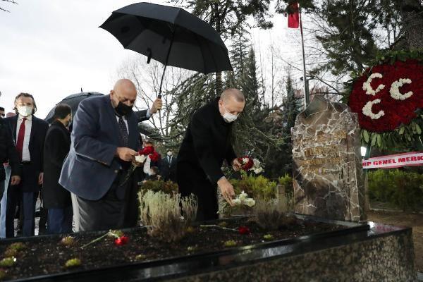 Cumhurbaşkanı Erdoğan, Türkeş'in mezarını ziyaret etti - Sayfa 2
