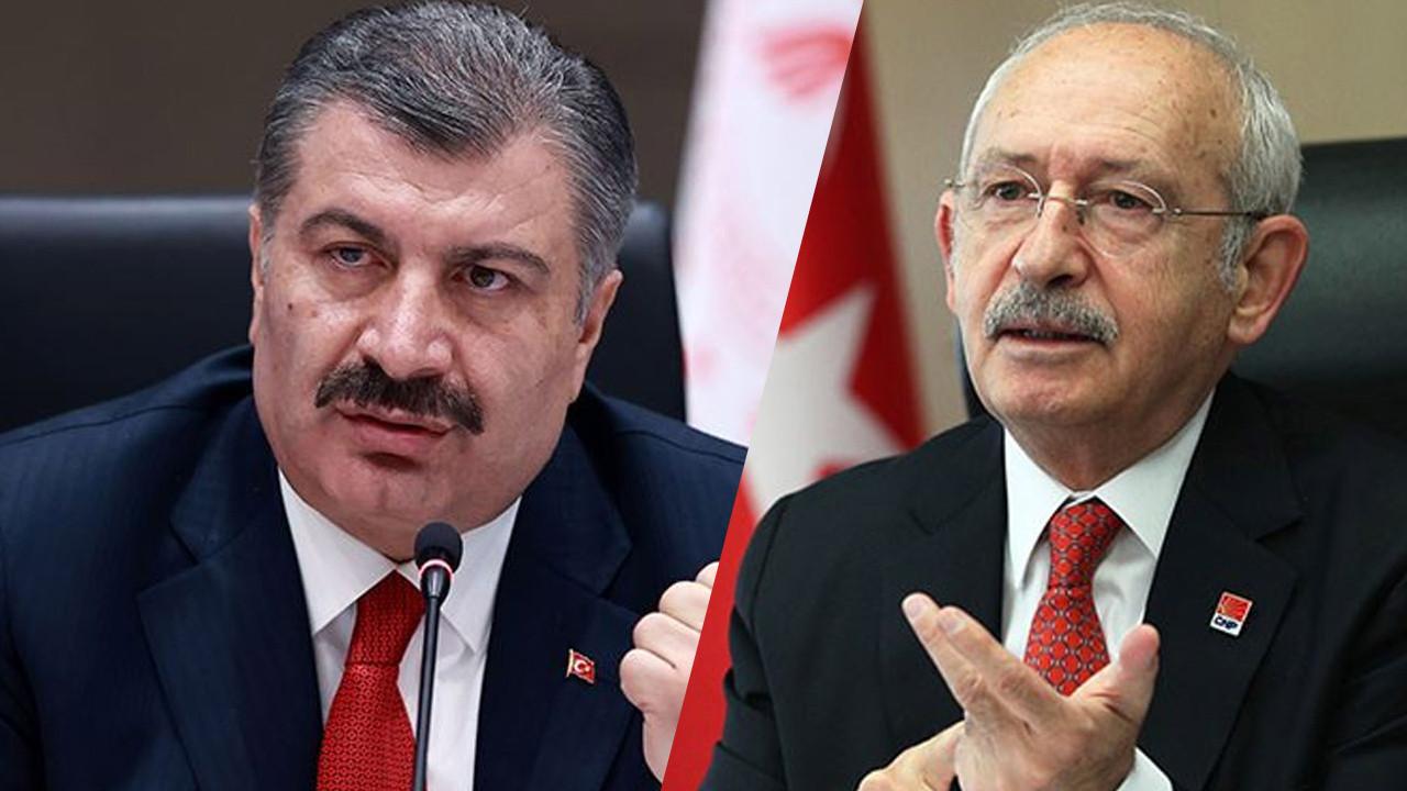 Bakan Koca'dan Kılıçdaroğlu'na yanıt: Bilim Kurulu siyasi rant malzemesi değildir