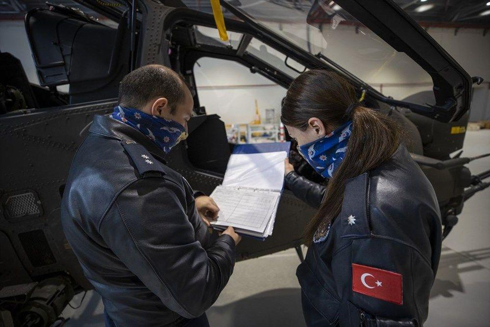 Türkiye'nin ilk kadın taarruz helikopter pilotu - Sayfa 1