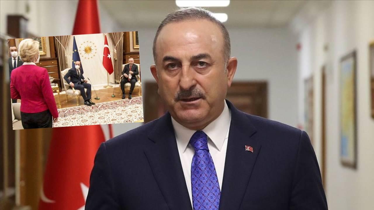 Bakan Çavuşoğlu'ndan AB ziyaretindeki protokol tartışmalarına ilişkin açıklama