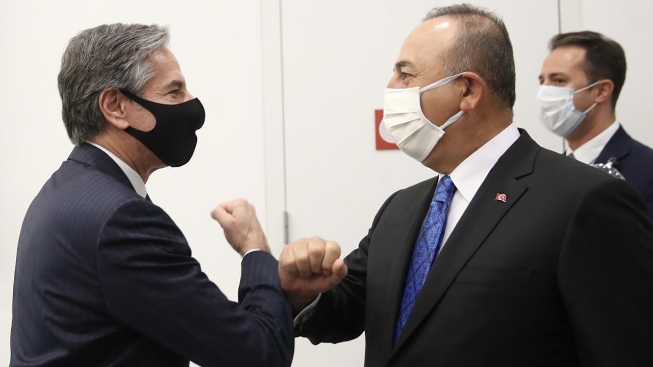 Çavuşoğlu, ABD'li mevkidaşı Antony Blinken ile görüştü