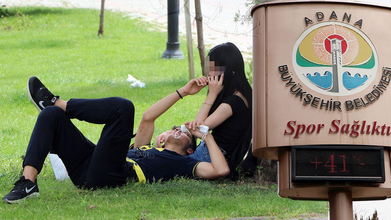 Adanalılar koronavirüsü unutup parklara akın etti - Sayfa 4