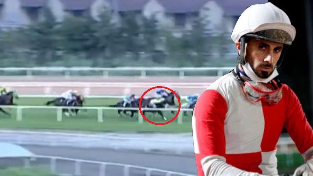 Adana'da yarış sırasında attan düşen jokey Samet Erkuş'un durumu ciddiyetini koruyor - Sayfa 1