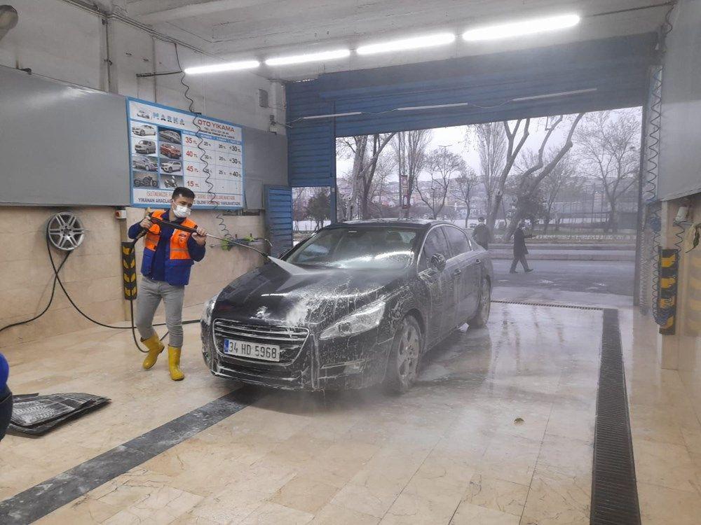 İstanbul'da gece çamur yağdı, vatandaşlar soluğu oto yıkamacılarda aldı - Sayfa 3