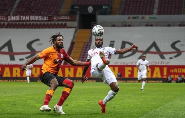 Galatasaray evinde Trabzonspor'la berabere kaldı - Sayfa 1