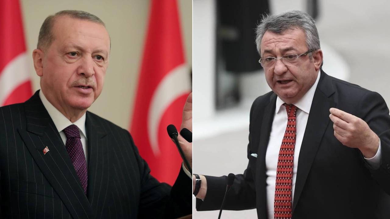Erdoğan'dan Engin Altay'a yanıt: Ahlaksız, edepsiz