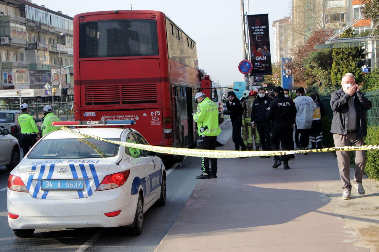 Beşiktaş'ta çift katlı İETT otobüsü kaza yaptı: 1 ölü, 1 yaralı - Sayfa 4