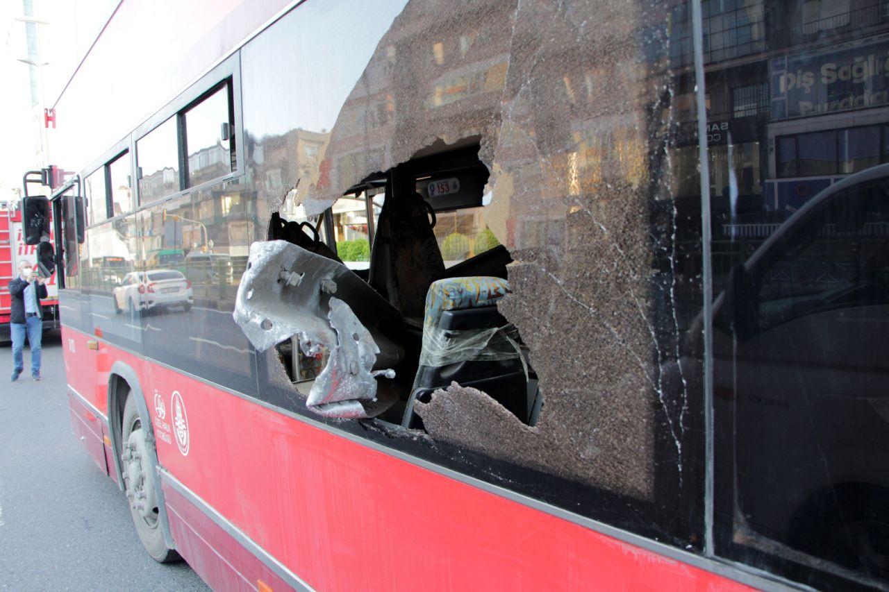 Beşiktaş'ta çift katlı İETT otobüsü kaza yaptı: 1 ölü, 1 yaralı - Sayfa 1