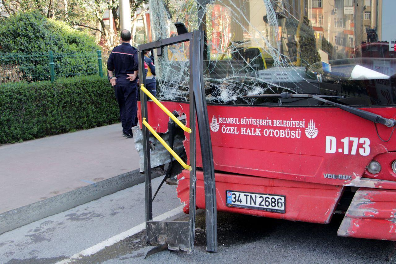 Beşiktaş'ta çift katlı İETT otobüsü kaza yaptı: 1 ölü, 1 yaralı - Sayfa 2