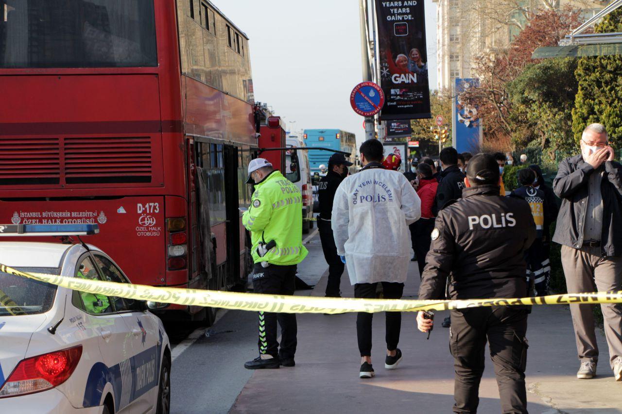 Beşiktaş'ta çift katlı İETT otobüsü kaza yaptı: 1 ölü, 1 yaralı - Sayfa 3
