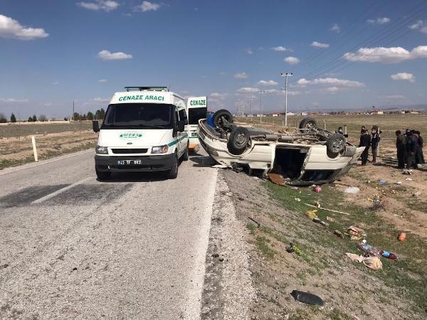 Tarım işçilerini taşıyan minibüs takla attı; 2 kişi hayatını kaybetti - Sayfa 1