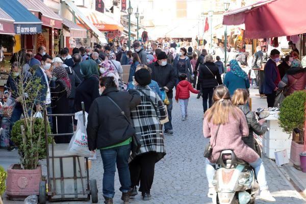 Eskişehir'de 3 günlük kısıtlama öncesi sokaklar doldu - Sayfa 3