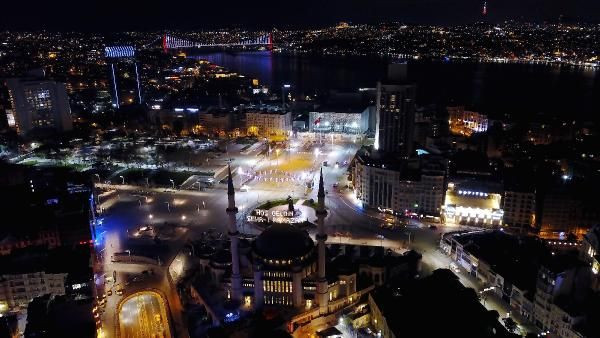 Taksim Camii'ne mahyalar asıldı - Sayfa 4