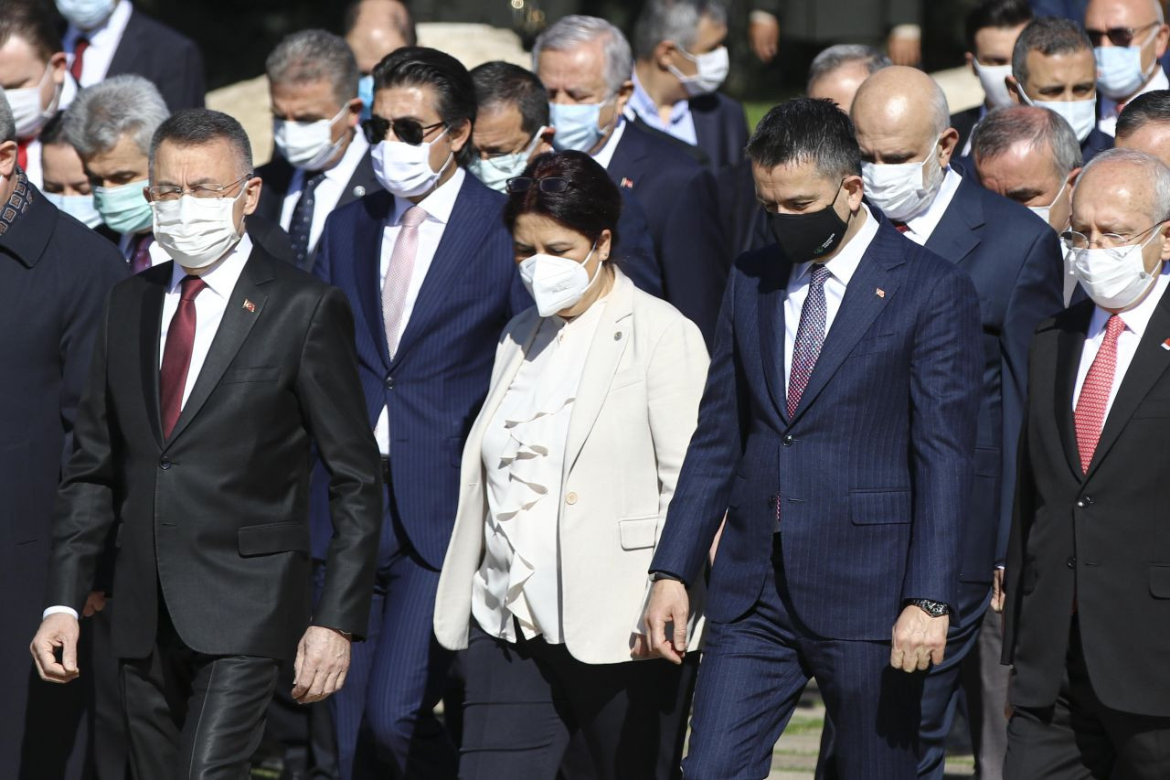 TBMM Başkanı Mustafa Şentop başkanlığındaki devlet erkanı Anıtkabir'i ziyaret etti - Sayfa 4