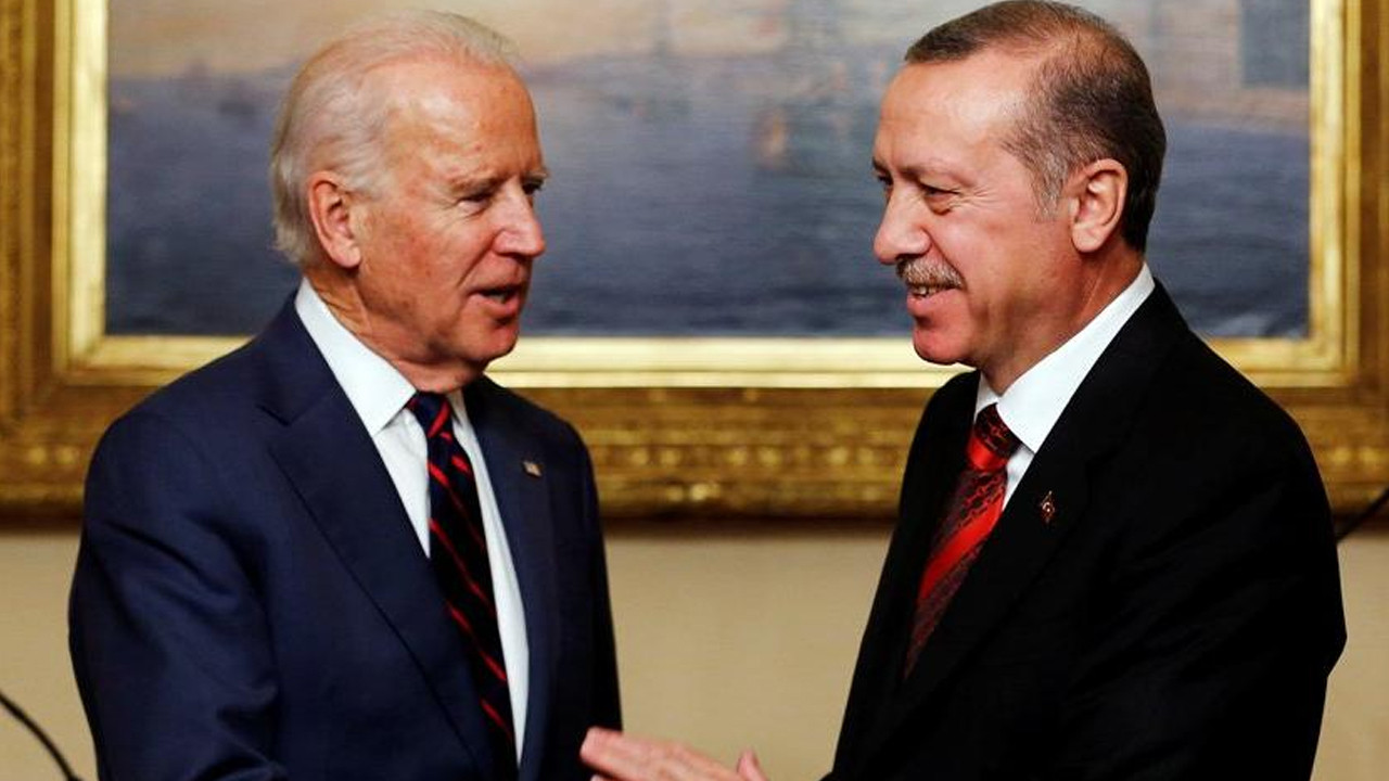 Cumhurbaşkanı Erdoğan, ABD Başkanı Biden ile görüştü