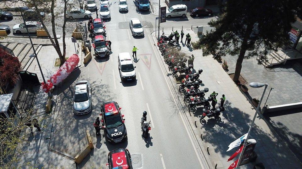 İstanbul Emniyet Müdürlüğü 23 Nisan'ı kortejle kutladı - Sayfa 4