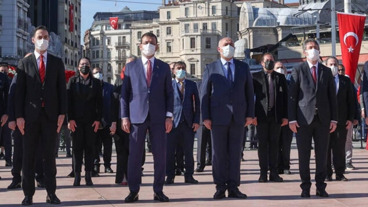 İstanbul Valiliğinden Taksim'de düzenlenen törene ilişkin açıklama