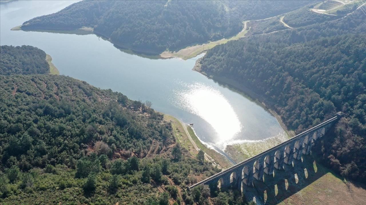İstanbul barajlarında son bir yılın en yüksek seviyesi