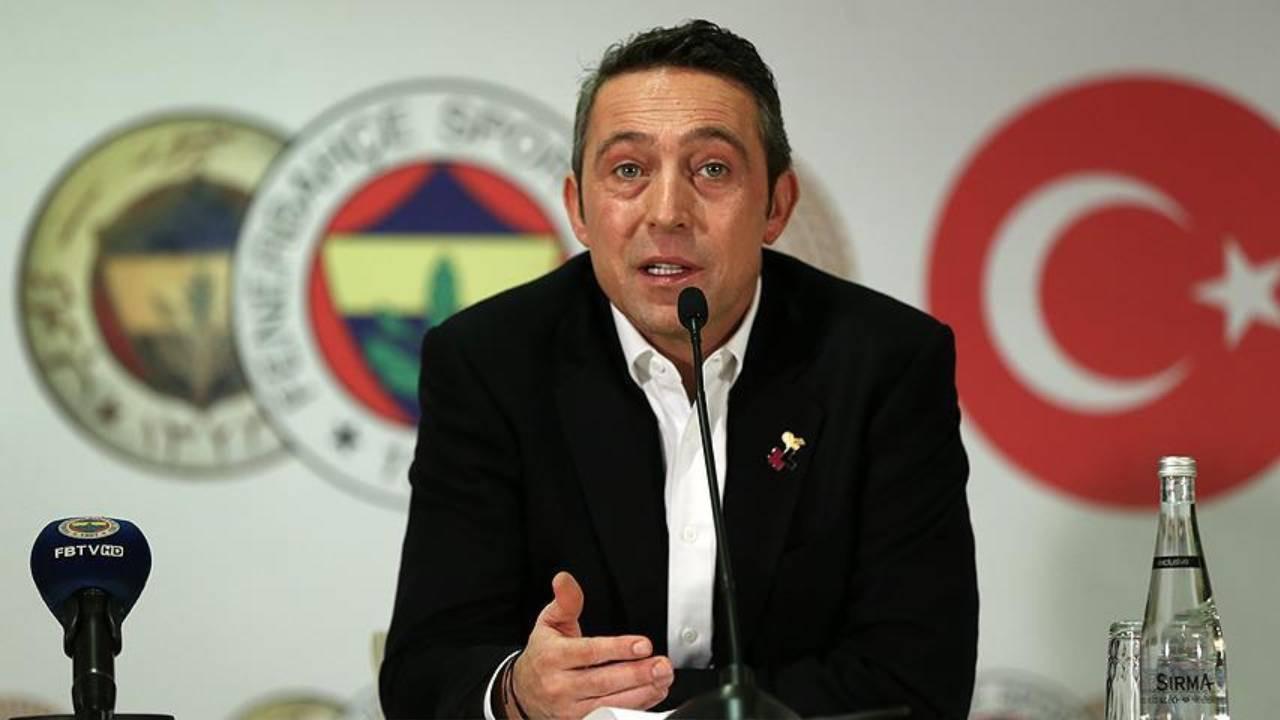 Fenerbahçe Başkanı Ali Koç'tan flaş sözler! Galatasaray'a mesaj var
