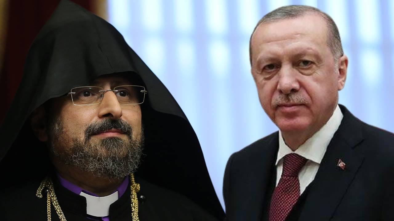 Cumhurbaşkanı Erdoğan'dan Türkiye Ermenileri Patriği Başkanına mesaj