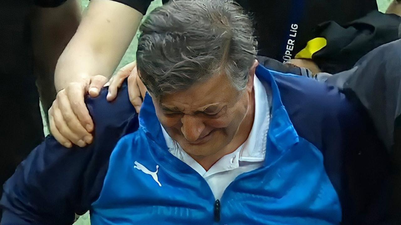 Erzurumspor'da Yılmaz Vural gözyaşlarını tutamadı!