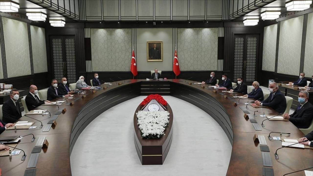 Cumhurbaşkanı Erdoğan kabineyi topladı