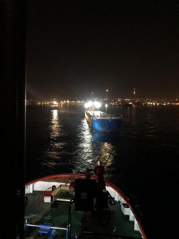 Yük gemisi İstanbul Boğazı'nda makine arızası yaptı - Sayfa 2