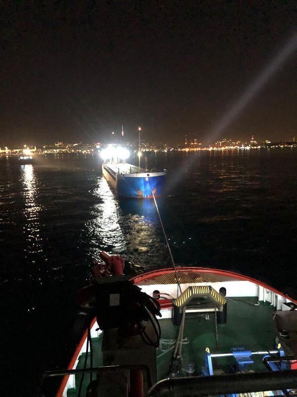 Yük gemisi İstanbul Boğazı'nda makine arızası yaptı - Sayfa 3