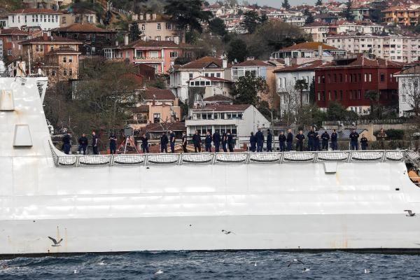 İstanbul Boğazı'ndan geçen ABD sahil güvenlik gemisi Karadeniz'e açıldı - Sayfa 4
