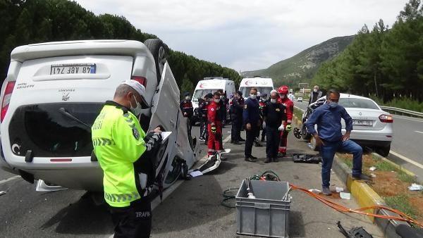 Muğla'da personel aracı ile otomobil çarpıştı: 1 ölü, 5 yaralı - Sayfa 2