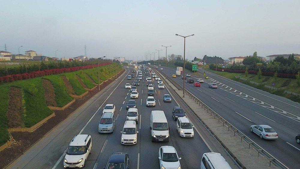 İstanbul'da 'tam kapanma' öncesinde kaçış trafiği erken başladı - Sayfa 1
