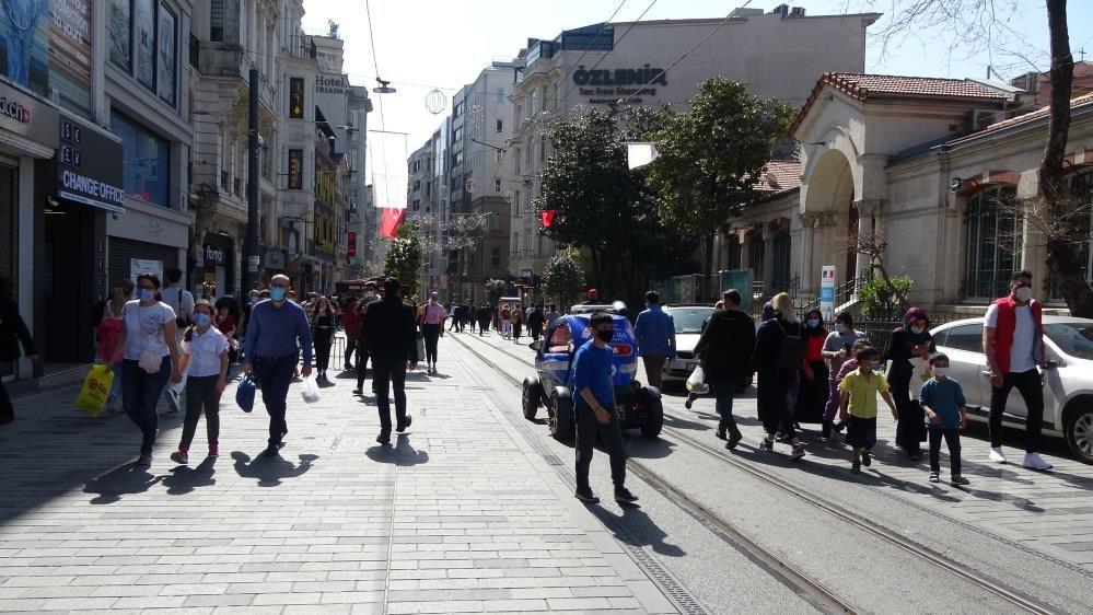 İstiklal Caddesi'nde kapanma yoğunluğu - Sayfa 3