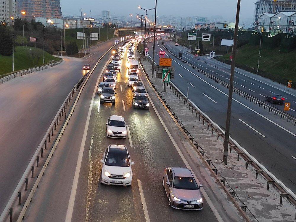 İstanbul'da 'tam kapanma' öncesinde kaçış trafiği erken başladı - Sayfa 2