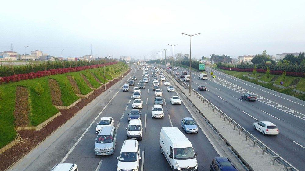 İstanbul'da 'tam kapanma' öncesinde kaçış trafiği erken başladı - Sayfa 4