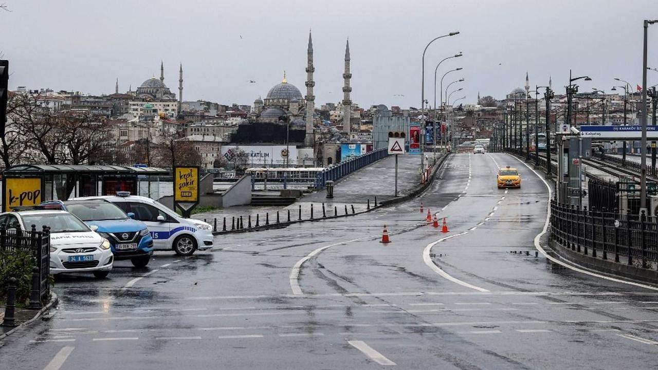 Türkiye genelinde 17 günlük tam kapanma başladı