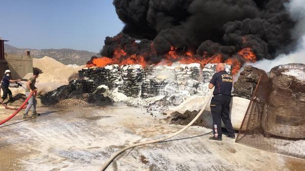 Zift yapım tesisinde yangın; 60 ton katkı maddesi yandı - Sayfa 3