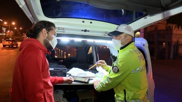 İstanbul'da tam kapanmanın ilk gecesinde ceza yağdı! Araçlar tek tek durduruldu - Sayfa 1