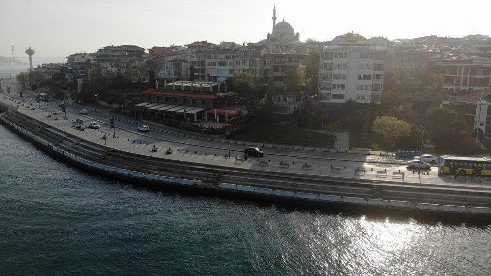 Tam kapanma sonrası Kadıköy ve Üsküdar'da meydanlar sessizliğe büründü - Sayfa 3
