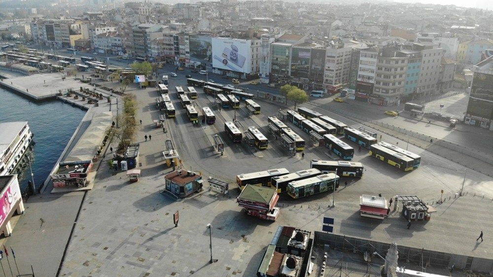 Tam kapanma sonrası Kadıköy ve Üsküdar'da meydanlar sessizliğe büründü - Sayfa 4