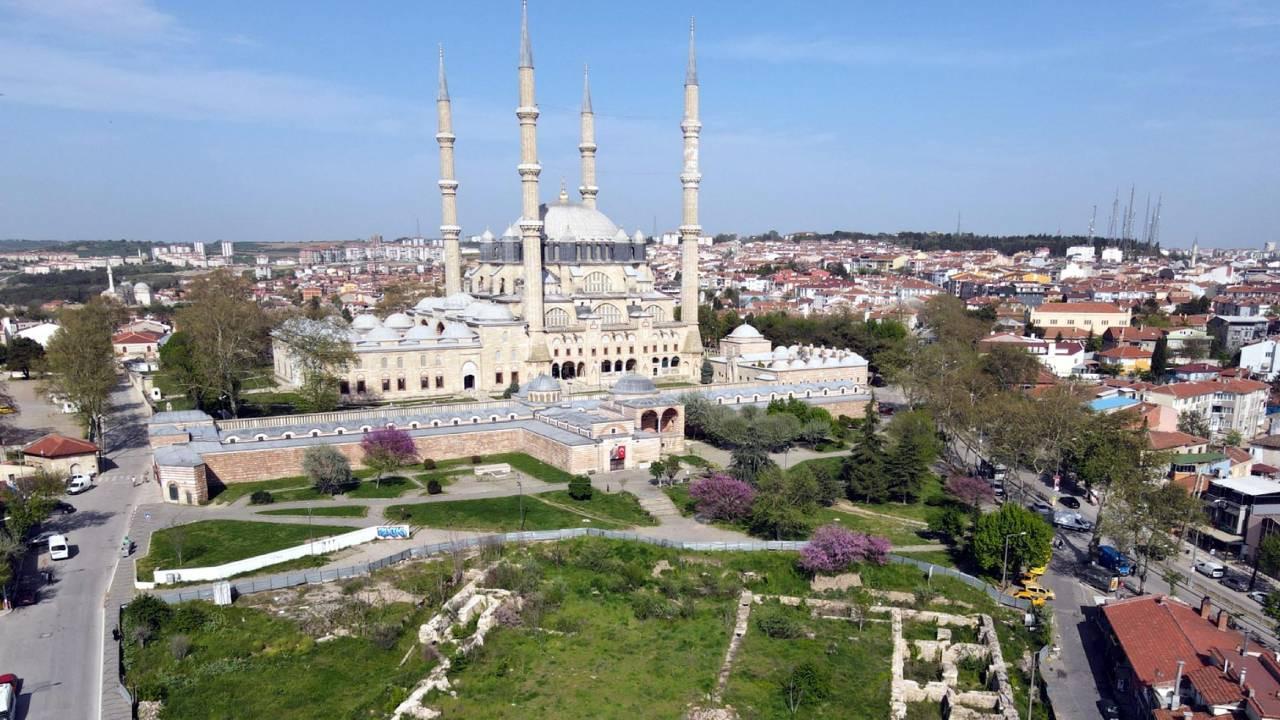 Selimiye Camisi'ne çevre düzenlemesi! Cumhurbaşkanı Erdoğan talimat verdi