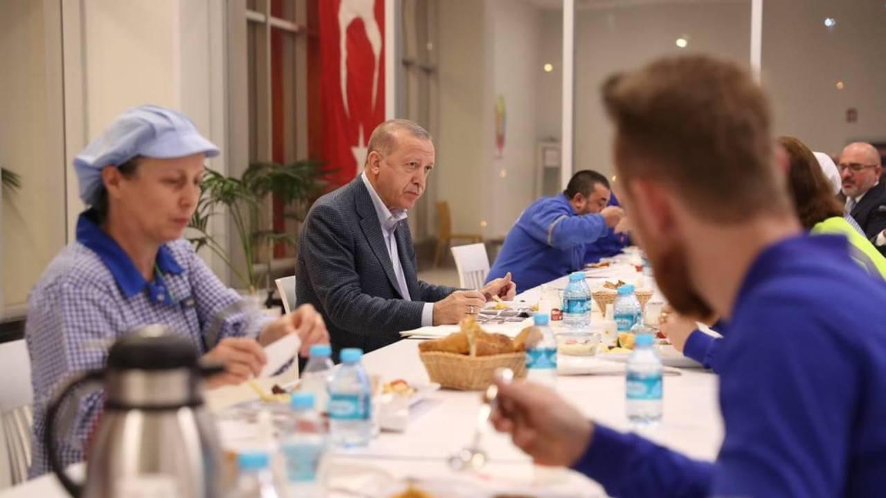 Cumhurbaşkanı Erdoğan: İşçinin alın terini sömürmek isteyenlere fırsat vermeyeceğiz