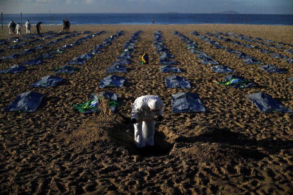 Brezilya'nın Copacabana plajında ceset torbaları - Sayfa 2