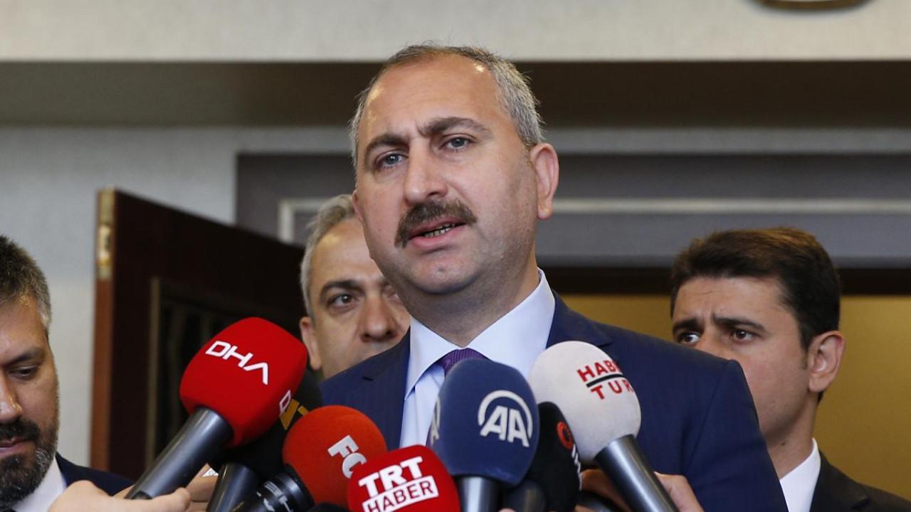 Adalet Bakanı Gül'den muhalefete: Eğer varsa bir öneriniz bekliyoruz