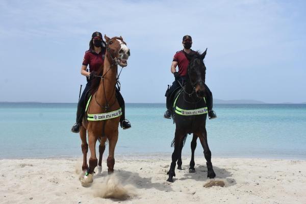 İzmir'de Ilıca Plajı'nda atlı denetim - Sayfa 2