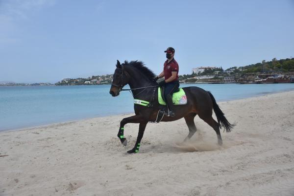 İzmir'de Ilıca Plajı'nda atlı denetim - Sayfa 4