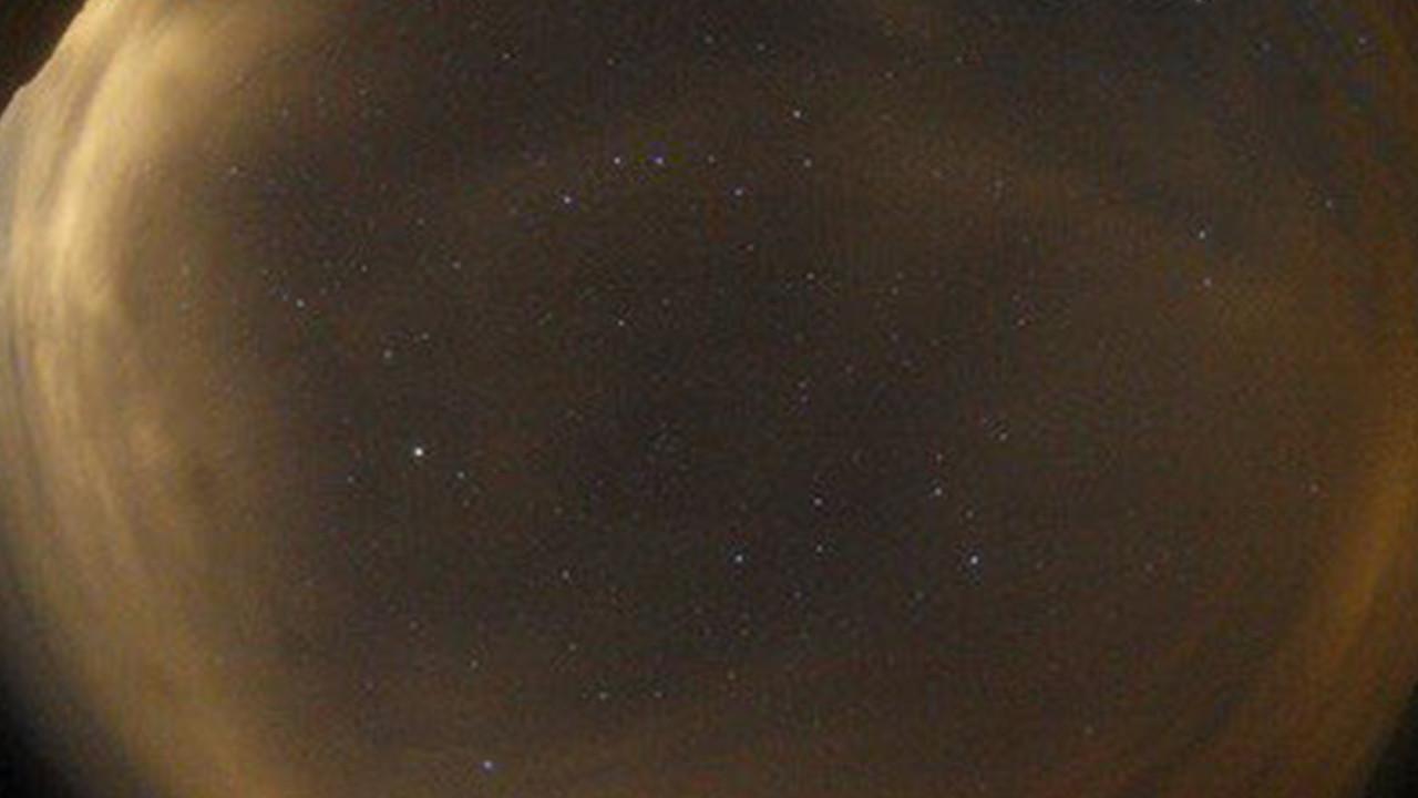Gökyüzündeki esrarengiz ışıklar merak konusu oldu
