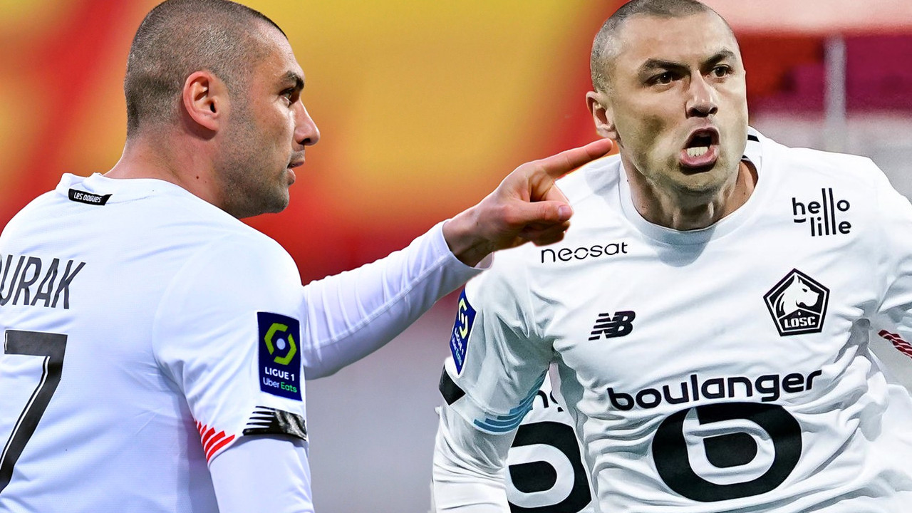 Fransa'da Burak Yılmaz durmuyor, durdurulamıyor; O nasıl bir gol öyle...